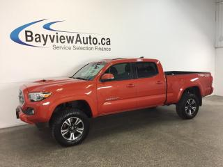 Used 2016 Toyota Tacoma SR5- WRANGLERS|ROOF|HTD STS|NAV|REV CAM! for sale in Belleville, ON