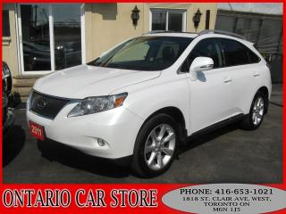Used 2011 Lexus RX 350 AWD NAVIGATION SUNROOF !!!NO ACCIDENTS!!! for sale in Toronto, ON