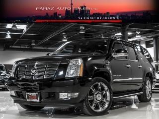 Used 2012 Cadillac Escalade ESV NAVI|BLIND SPOT|TV/DVD|REAR CAM|COOLED SEATS|LOADED for sale in North York, ON