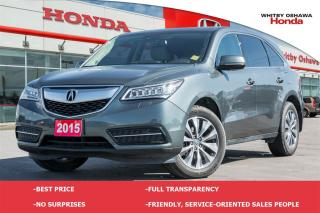 Used 2015 Acura MDX Technology Package  for sale in Whitby, ON