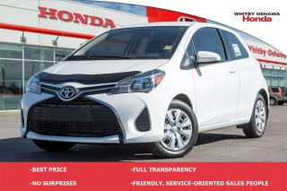 Used 2016 Toyota Yaris CE (MT) for sale in Whitby, ON