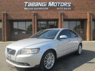Used 2008 Volvo S40 MANUAL   HEATED SEATS   SUNROOF   MEMORY SEATS   for sale in Mississauga, ON