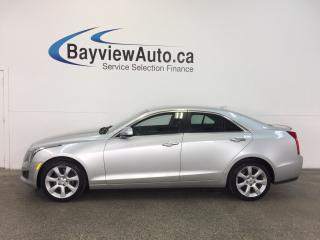 Used 2014 Cadillac ATS - AWD! TURBO! PUSH BTN STRT! HTD LTHR! BOSE! for sale in Belleville, ON