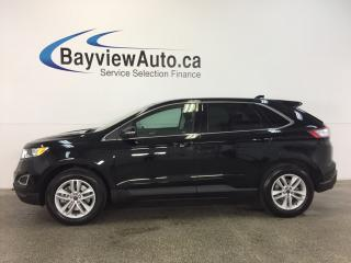 Used 2017 Ford Edge SEL- AWD|KEYPAD ENTRY|HTD SEATS|REV CAM|SYNC! for sale in Belleville, ON