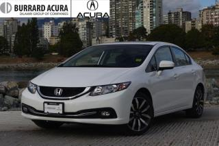 Used 2014 Honda Civic Sedan Touring CVT *Navi/Bluetooth/Leather* for sale in Vancouver, BC