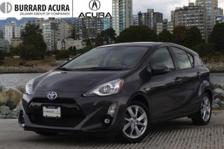Used 2016 Toyota Prius c Tech Navi/Sunroof/Bluetooth for sale in Vancouver, BC