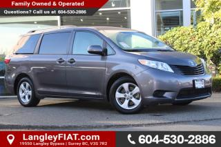 Used 2016 Toyota Sienna 7 Passenger NO ACCIDENTS, B.C OWNED for sale in Surrey, BC