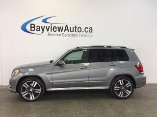 Used 2014 Mercedes GLK 250 - BLUETEC|AWD|PANOROOF|HITCH|HTD LTHR|BSA|CRUISE! for sale in Belleville, ON