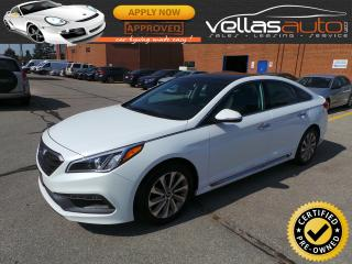 Used 2015 Hyundai Sonata Sport Tech SPORT-TECH| NAVIGATION| PANO RF for sale in Woodbridge, ON