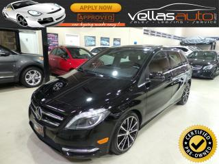 Used 2014 Mercedes-Benz B-Class Sports Tourer SPORTS TOURER| NAVI| PANO RF| 18ALLYS for sale in Woodbridge, ON
