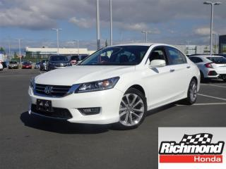 Used 2014 Honda Accord Sport! Honda Certified Extended Warranty to 120, 0 for sale in Richmond, BC