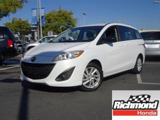 Used 2012 Mazda MAZDA5 GS! 6 Months Powertrain Warranty Included! for sale in Richmond, BC