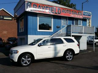 Used 2011 Dodge Durango Citadel AWD **7 Passenger/Leather/Sunroof/Navigation** for sale in Barrie, ON