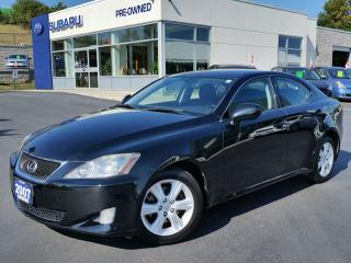 Used 2007 Lexus IS 250 6spd RWD for sale in Kitchener, ON