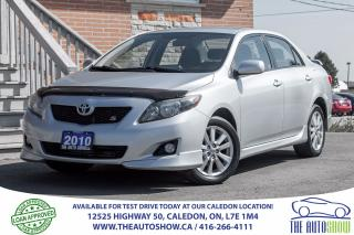 Used 2010 Toyota Corolla S for sale in Caledon, ON