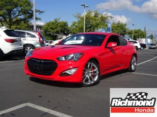 Used 2015 Hyundai Genesis 3.8 GT! BALANCE OF FACTORY WARRANTY! for sale in Richmond, BC