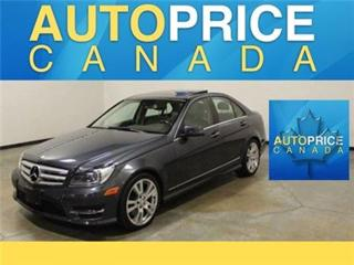 Used 2013 Mercedes-Benz C-Class C350 PANO NAVIGATION XENON for sale in Mississauga, ON