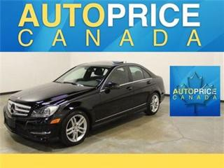 Used 2013 Mercedes-Benz C-Class C300 4MATIC Navigation for sale in Mississauga, ON