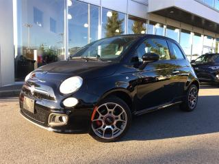 Used 2015 Fiat 500 Sport,local for sale in Surrey, BC