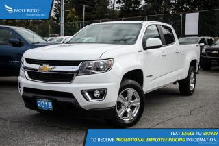 New 2018 Chevrolet Colorado LT Satellite Radio and Backup Camera for sale in Port Coquitlam, BC