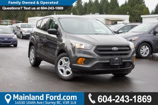 New 2018 Ford Escape S for sale in Surrey, BC