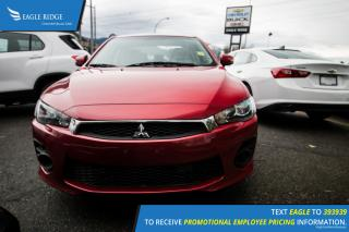 Used 2016 Mitsubishi Lancer ES Cruise Control, Hands Free Calling, A/C for sale in Port Coquitlam, BC