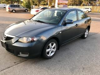Used 2008 Mazda MAZDA3 GS CAR PROOF CLEAN for sale in Mississauga, ON