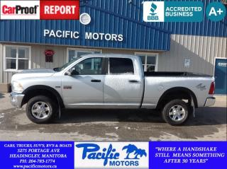 Used 2010 Dodge Ram 2500 SLT*390hp Hemi*4x4*Crew*Financing Available! for sale in Headingley, MB
