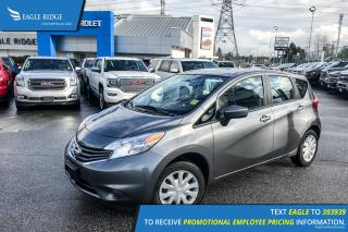 Used 2016 Nissan Versa Note 1.6 S Rear Vision Camera, Hands Free Calling, A/C for sale in Port Coquitlam, BC