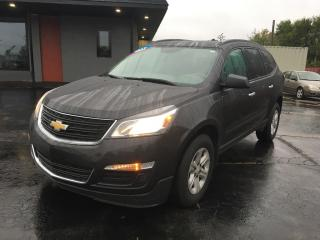 Used 2017 Chevrolet Traverse LS SEATS  8!!!  AWD for sale in Brantford, ON