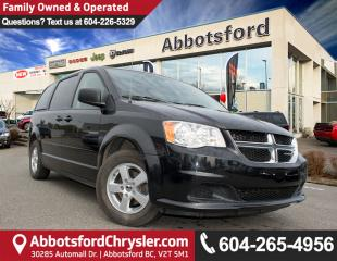 Used 2012 Dodge Grand Caravan SE/SXT ACCIDENT FREE! for sale in Abbotsford, BC