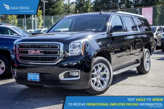 New 2018 GMC Yukon XL SLT Navigation, Sunroof, and Heated Seats for sale in Port Coquitlam, BC