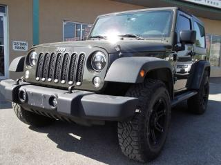 Used 2015 Jeep Wrangler Sport $201.55 BI WEEKLY! $0 DOWN! CERTIFIED! for sale in Bolton, ON
