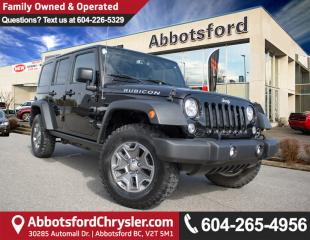 Used 2017 Jeep Wrangler Unlimited Rubicon # 3 VALUE RANK IN BC! for sale in Abbotsford, BC