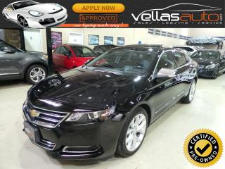 Used 2017 Chevrolet Impala Premier|Leather|Sunroof|Blind Spot Monitor for sale in Woodbridge, ON