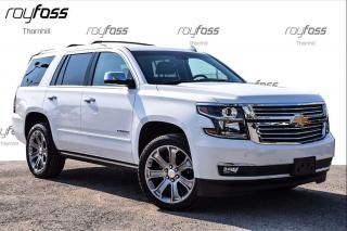 Used 2017 Chevrolet Tahoe Premier Pwr Boards Nav Roof Tow Pkg for sale in Thornhill, ON