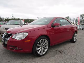 Used 2008 Volkswagen Eos 2.0T HIGHLINE/ SERVICE HISTORY / ACCIDENT FREE for sale in Newmarket, ON