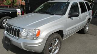 Used 2004 Jeep Grand Cherokee Limited AWD for sale in Chatsworth, ON