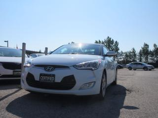 Used 2014 Hyundai Veloster AUTO / ACCIDENT FREE / BAL OF FACTORY WARRANTY for sale in Newmarket, ON