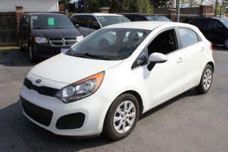 Used 2014 Kia Rio LX Heated Seats Bluetooth for sale in Brampton, ON
