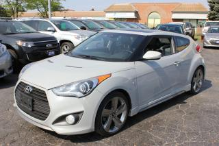 Used 2013 Hyundai Veloster Turbo Pano Rood Leather Navi for sale in Brampton, ON