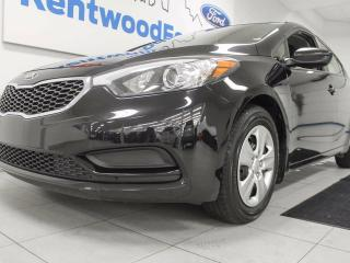 Used 2016 Kia Forte LX- black on black with black and black! for sale in Edmonton, AB