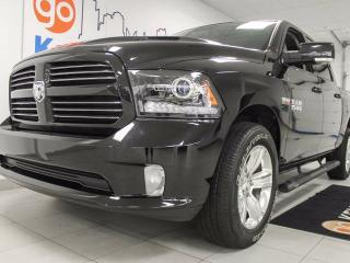 Used 2016 Dodge Ram 1500 Sport 5.7L V8 with sunroof, heated/cooled leathr power seats and heated steering wheel! for sale in Edmonton, AB