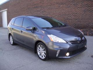 Used 2012 Toyota Prius v PRIUS V-LOADED,HEATED LEATHER,NAVI,BACK CAM for sale in North York, ON