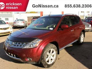 Used 2006 Nissan Murano SE MINT CONDITION BACK UP CAMERA LOW KMS NO ACCIDENTS for sale in Edmonton, AB