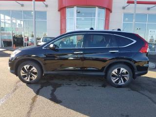Used 2015 Honda CR-V Touring for sale in Red Deer, AB