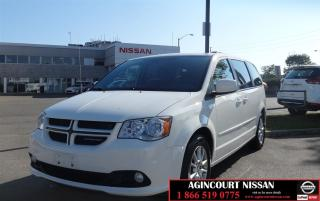 Used 2012 Dodge Grand Caravan R/T |Leather|DVD|Stow and Go| for sale in Scarborough, ON
