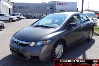 Used 2009 Honda Civic DX-G |1 Owner|Cruise|Certified| for sale in Scarborough, ON