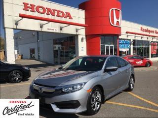 Used 2016 Honda Civic Sedan LX,  one owner, roadsport original for sale in Scarborough, ON