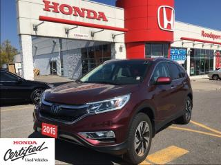 Used 2015 Honda CR-V Touring, roadsport original, check the mileage for sale in Scarborough, ON